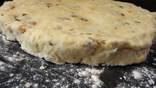 Bacon Cheese Rosemary Scones 17