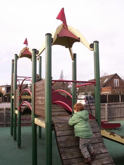 Weston-onTrent playground