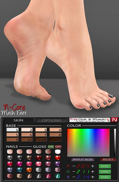 NEW N-Core Mesh Feet