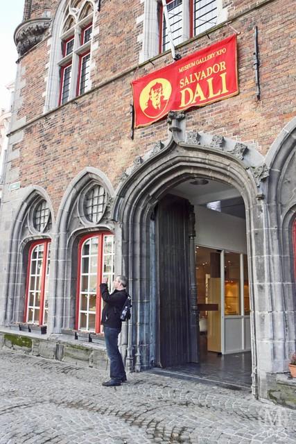 Salvador Dali Exhibition, Bruges
