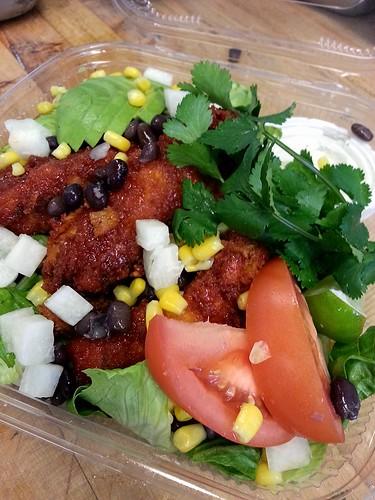Firecracker chicken salad by pipsyq