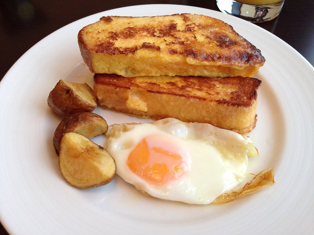 French Toast and Egg