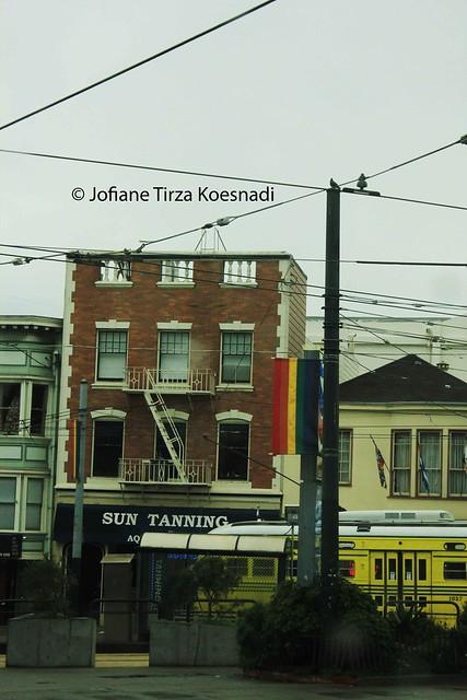 SF - rainbow flag