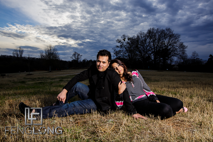 Kanwal & Ali's Engagement Part 2 | Park & Body Painting | Atlanta Indian Engagement Photography