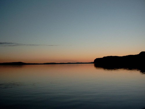 Sunset over the Kennebecasis