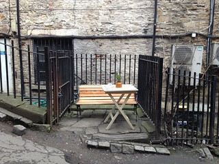 Al fresco seating, Flat White, Durham