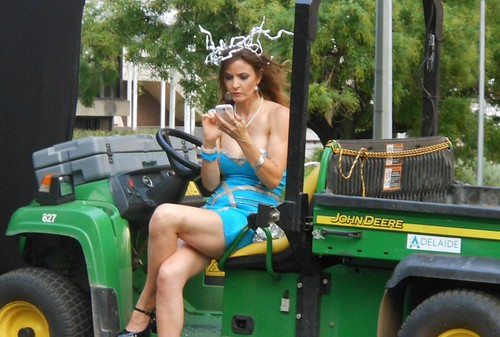 Texting on a Tractor