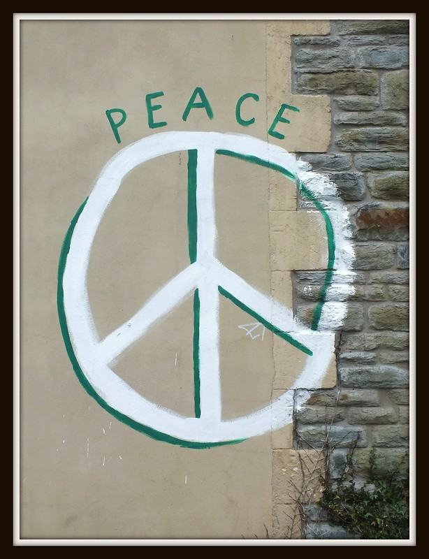 Peace Graffiti in Canton