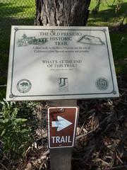 Old Presidio Historic Trail - first marker at Mason St and Juan St by jawajames