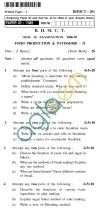 UPTU BHMCT Question Papers -BHMCT-201-Food Production & Patisserie-II