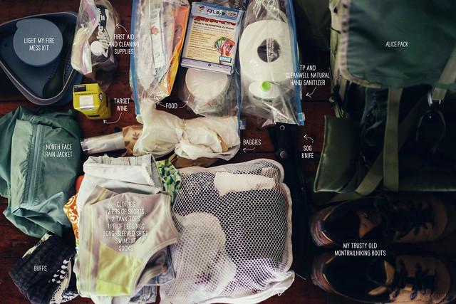 corbin cabin backpacking trip shenandoah national park