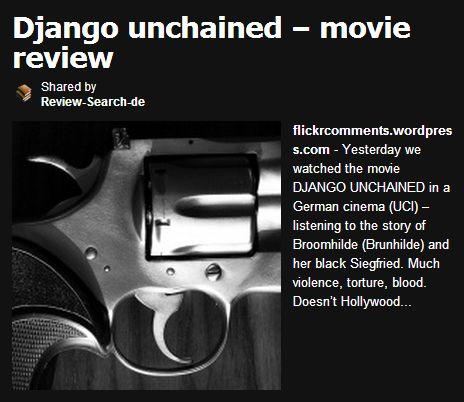django-unchained-review