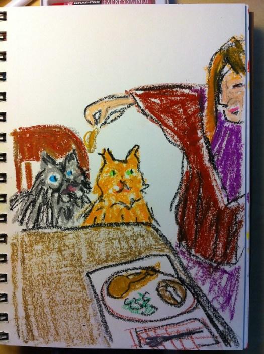 044:365 Love or Chicken? (Sketch)