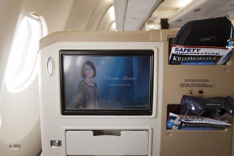 Welcome Aboard Screen