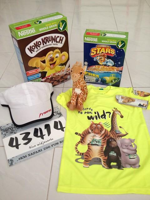 zoo run racepack