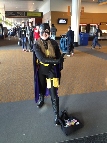 Stephanie Brown Batgirl Cosplayer