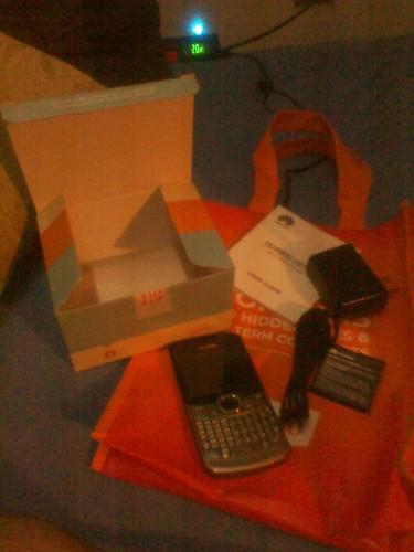 The new Huawei U6150