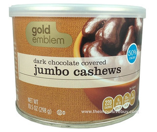Gold Emblem Dark Chocolate Covered Jumbo Cashews