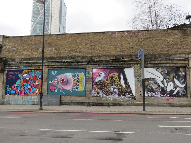 Great Eastern Street Fun Wall