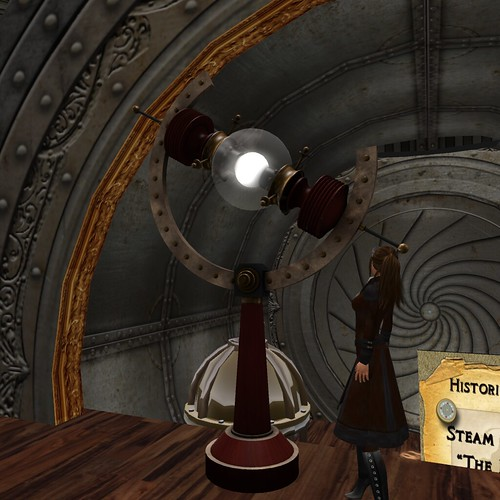 Steampunk Lamp RARE by Trompe Loeil at the Arcade