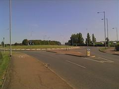 Lancaster Way roundabout