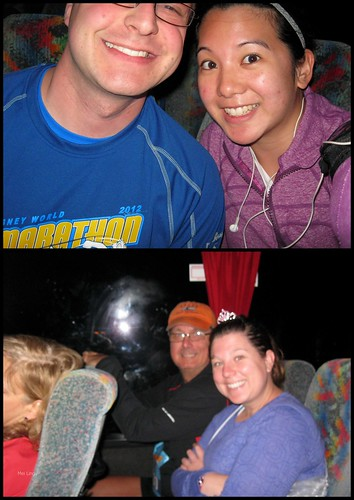 3 a.m. and on the bus