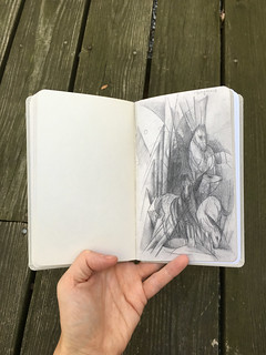 Franz Marc Sketchbook from Battlefield - 4
