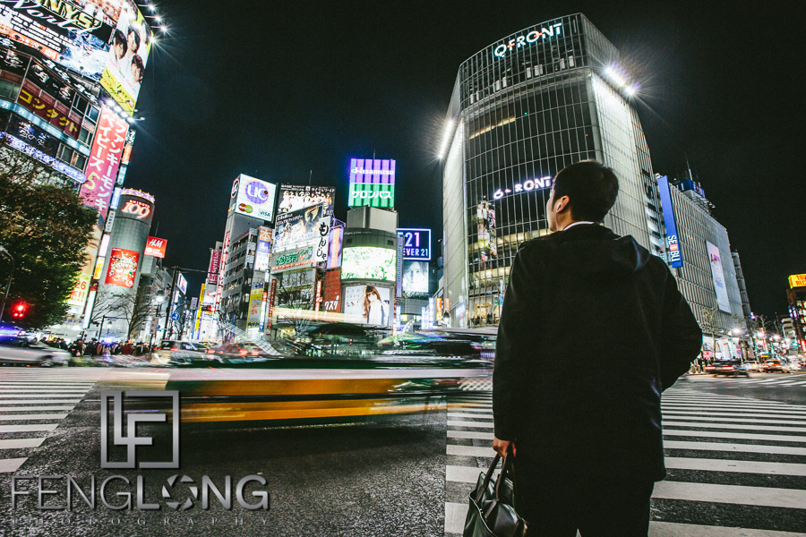 Salaryman | Shibuya Scramble Crossing | Japan Trip 2013