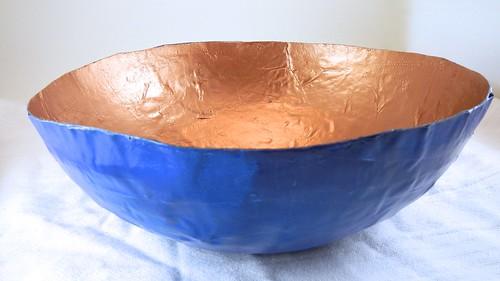 Papier Mache Bowls 37