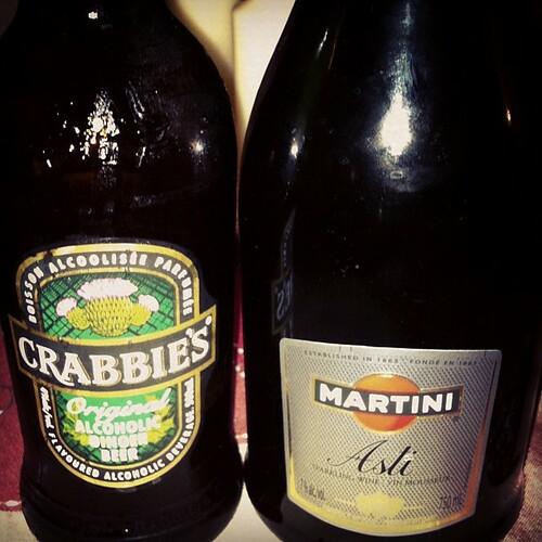 my first #crabbies #ginger beer. twas interesting
