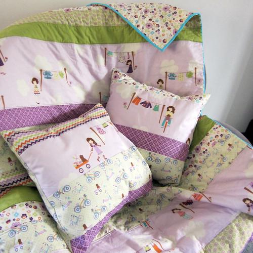 quilt+cushions