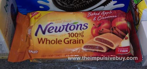 fig newton baked apple cinnamon