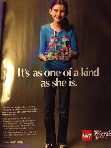 LEGO Friends magazine ad 2013