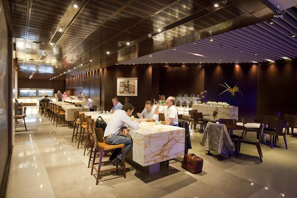 Silver Kris Lounge Dining Area