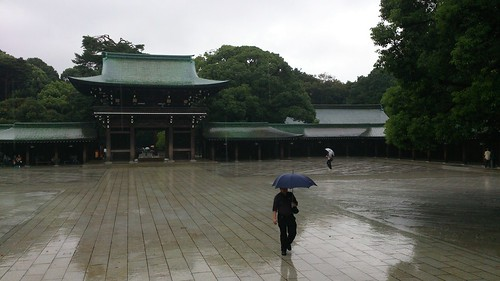 Meiji Jingu in the Rain