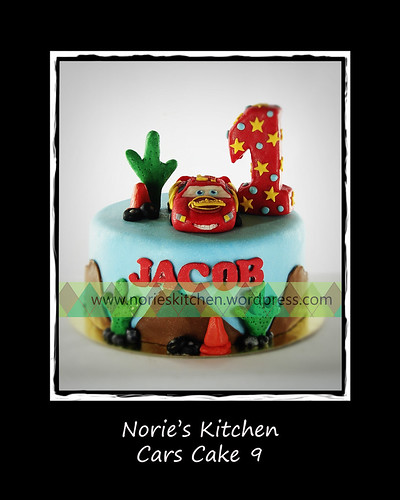 Norie's Kitchen - Cars Cake 9 by Norie's Kitchen
