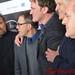 Dennis Christopher, Christoph Waltz, Franco Nero, Quentin Tarantino, Pascal Vicedomini DSC_0257