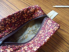 box bag hand stitching