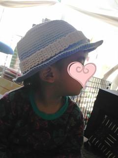 Son's sun hat