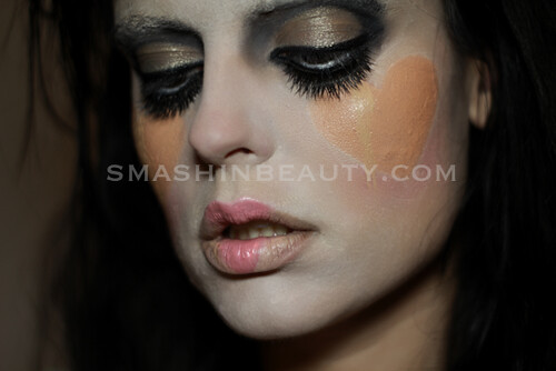 illamasqua broken heart makeup 2013