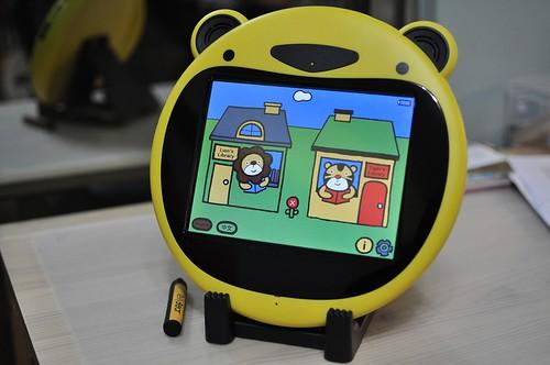 【Video】小熊說故事:Telly bear兒童平板閱讀器