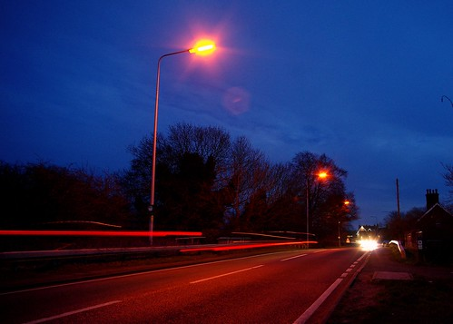 20130113-41_Tail Light Light Trails Braunston by gary.hadden