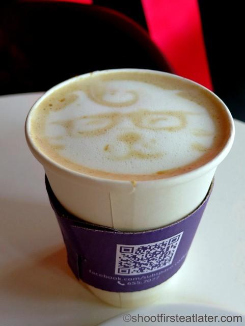 peanut butter latte P145
