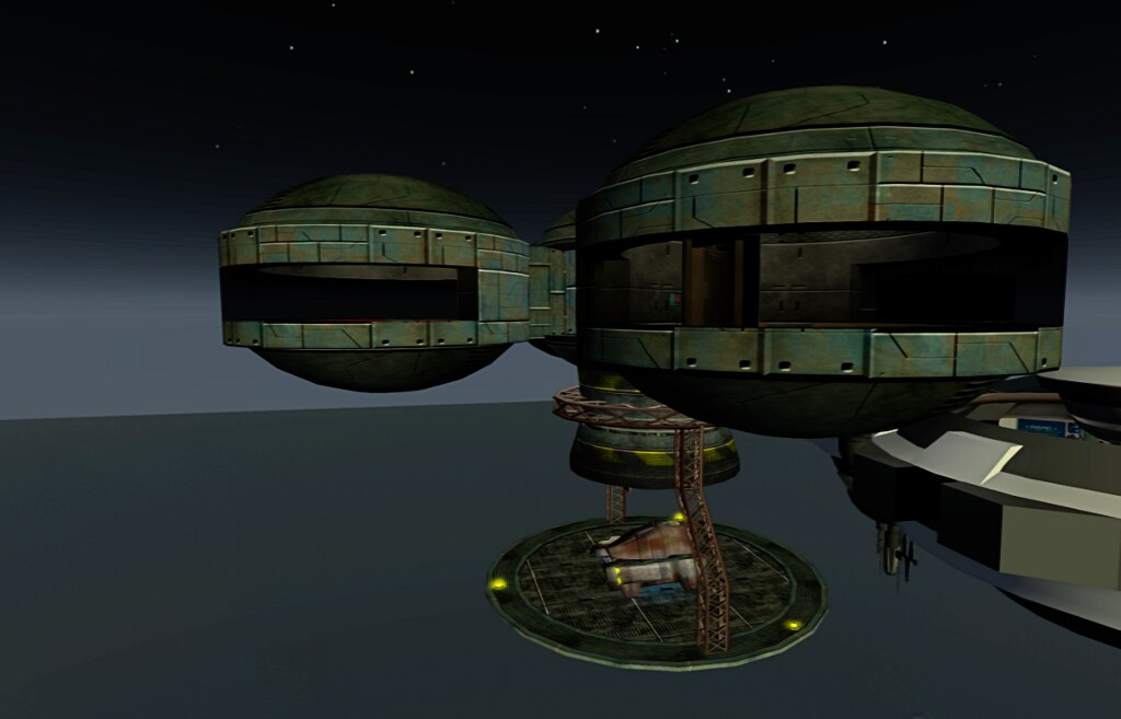 The Callisto Space Station at Quandry Industries