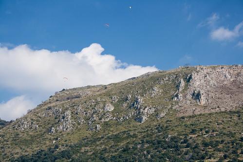 Ridge soaring