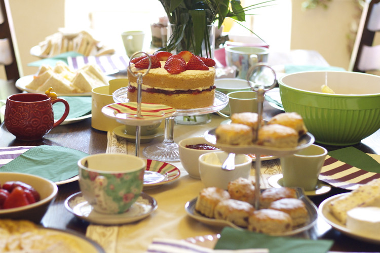 Teaparty spread