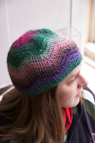 Crochet Ripple Hat