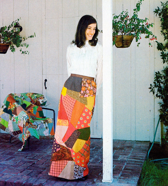 Quilting Overload Skirt 1973