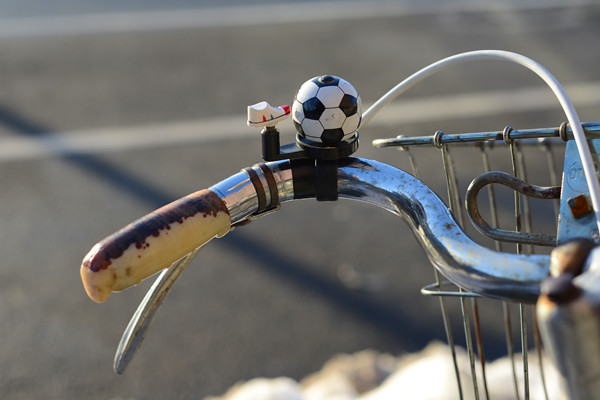 Soccer Ball Bicycle Bell