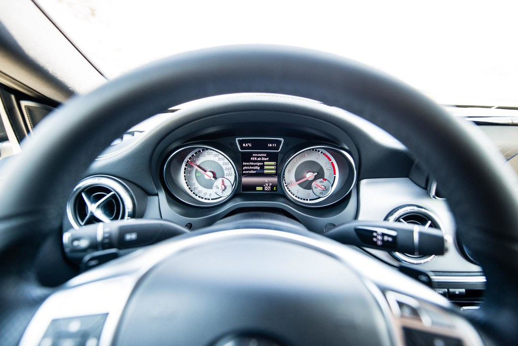 Mercedes-Benz CLA in St.Tropez